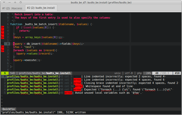 The Editor Highlights New Code That Has Automatically Replaced Old In Response To Applying Fix